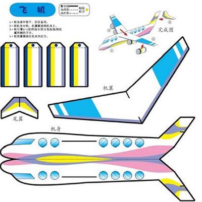 ppt素材小人飞机