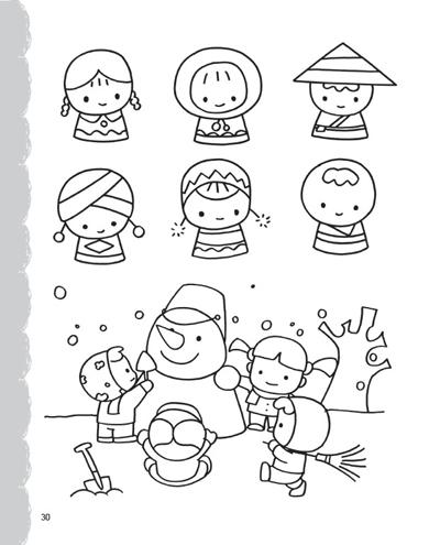 中国结的简笔画素材图片
